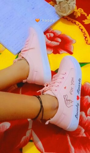Perfect Stylish Girls Casual Shoes Sneakers For Women photo review