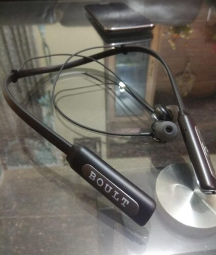 Boult Audio ProBass Curve Neckband Bluetooth Headset (Black, Grey, In the Ear) photo review