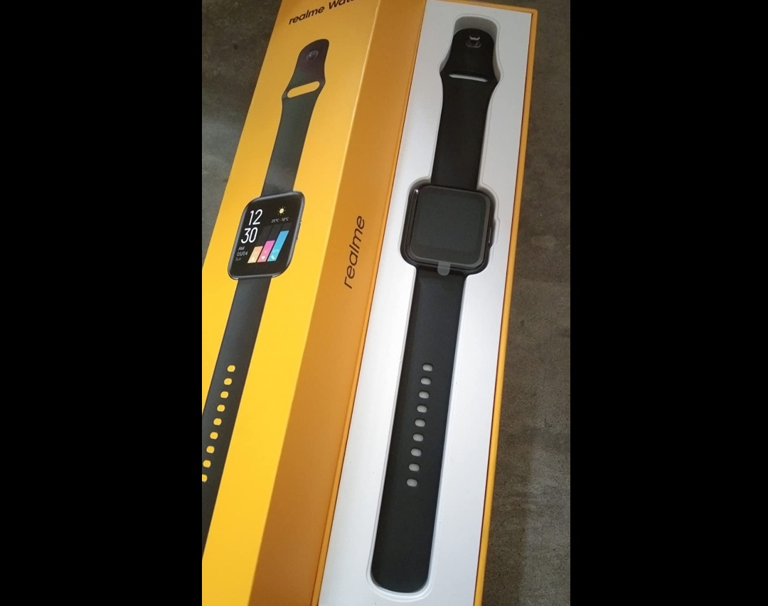"""RealMe Fashion Watch 1.4"""" Large HD Color Display, Full Touch Screen"""
